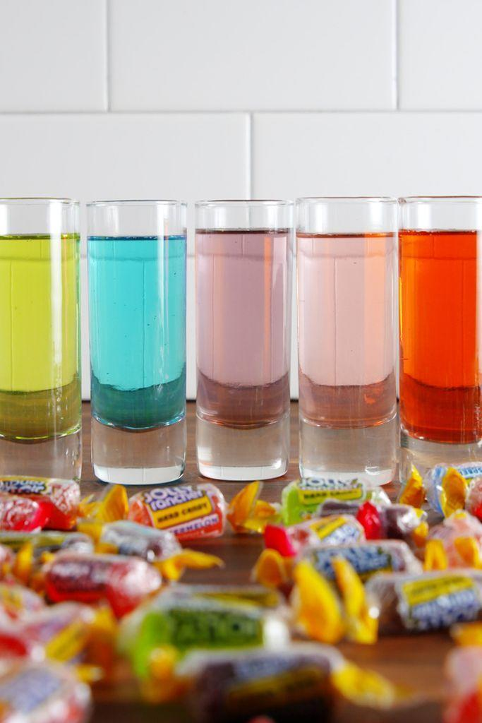 """<p><span>Because candy.</span></p><p><span>Get the recipe from </span><a href=""""https://www.delish.com/cooking/recipe-ideas/recipes/a52051/jolly-ranchers-shots-recipe/"""" rel=""""nofollow noopener"""" target=""""_blank"""" data-ylk=""""slk:Delish"""" class=""""link rapid-noclick-resp"""">Delish</a><span>.</span><br></p>"""