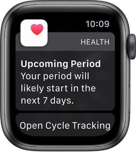 how to track your period with cycle tracker on the apple watch tracker1