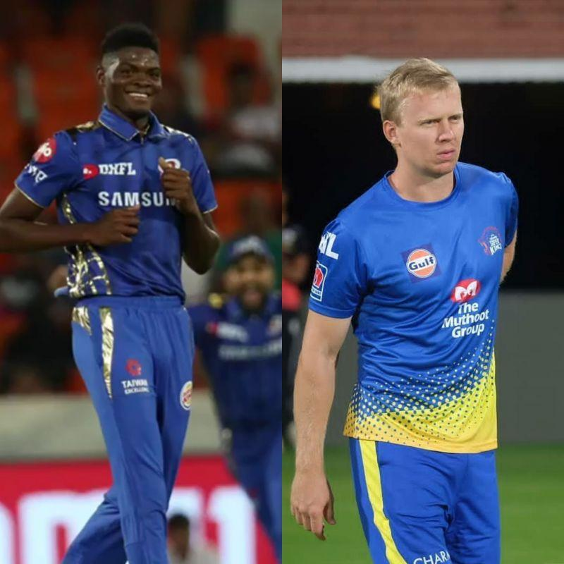 MI & CSK have got good replacements in Alzarri Joseph and Scott Kuggeleijn respectively for 201