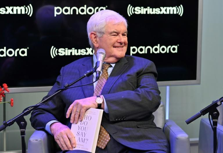 Newt Gingrich visits SiriusXM's The Catholic Channel in 2019