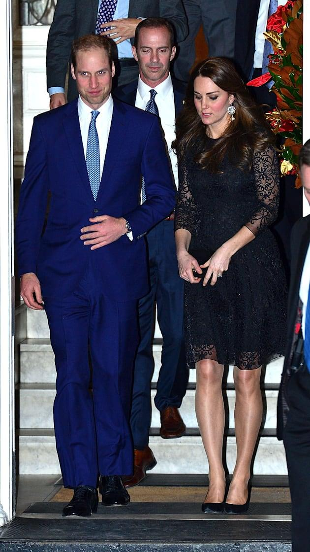 The Duke And Duchess Of Cambridge Sighting In New York City - December 07, 2014