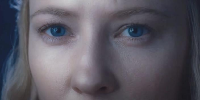 """Cate Blanchett as Galadriel in """"The Lord of the Rings: The Fellowship of the Ring."""" <p class=""""copyright"""">New Line Cinema</p>"""