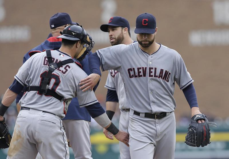 Indians top Tigers 6-2 and 5-2, sweep doubleheader