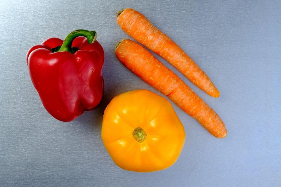 <p>These two are chock-full of beta-carotene, which is an antioxidant that can boost white blood cells. Beta-carotene also supports your mucus membrane. The membrane that lines the respiratory tract makes it harder for illness-causing bacteria to strike. In addition, bell peppers actually have three times more vitamin C than an orange. </p>