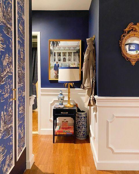 "<p>ELLE Decor's very own market editor Laurel Benedum invited followers into her East Side apartment, where she reimagined the petite space with her flair for nautical elegance. </p><p><a class=""link rapid-noclick-resp"" href=""https://www.elledecor.com/home-remodeling-renovating/home-makeovers/a33315210/elle-decor-editor-nyc-apartment-makeover/"" rel=""nofollow noopener"" target=""_blank"" data-ylk=""slk:TOUR THE HOME"">TOUR THE HOME</a></p><p><a href=""https://www.instagram.com/p/CDchu_qpeOA/"" rel=""nofollow noopener"" target=""_blank"" data-ylk=""slk:See the original post on Instagram"" class=""link rapid-noclick-resp"">See the original post on Instagram</a></p>"