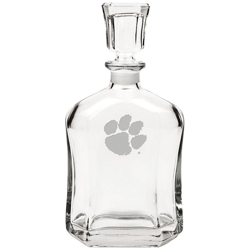 Clemson Whiskey Decanter
