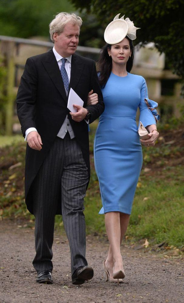 Charles, 9th Earl Spencer and his wife Karen