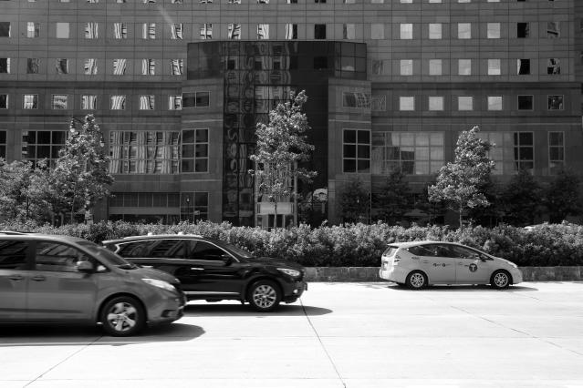 <p>The rubble-buried cars have been cleared, and the damage to buildings has been repaired as traffic heads north on West Street past Brookfield Place (originally known as the World Financial Center) on Aug. 20, 2017. (Photo: Gordon Donovan/Yahoo News) </p>