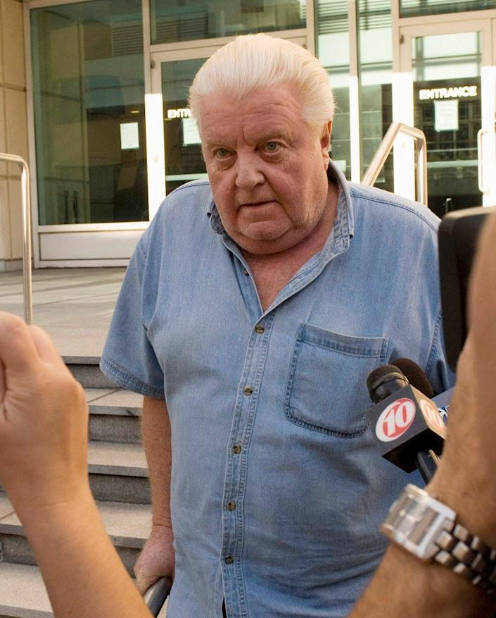 Former Chicago Police Department commander Jon Burge was released from custody in Tampa in 2008.