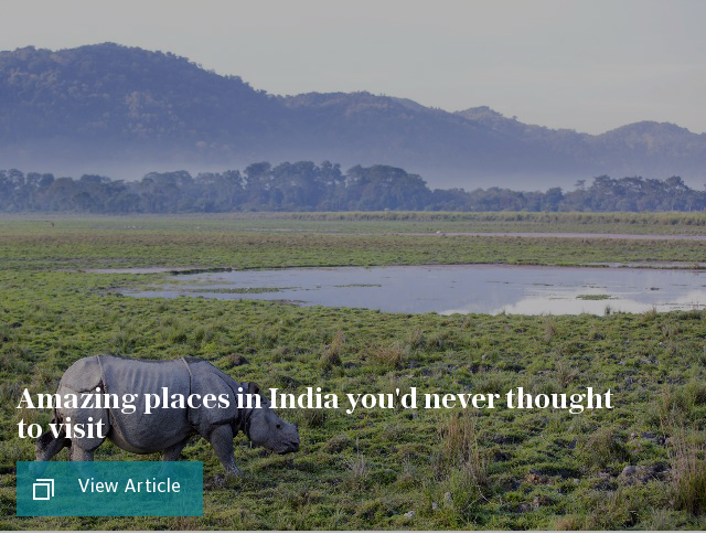 Amazing places in India you'd never thought to visit