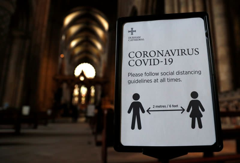 UK to conclude England's 2-metre COVID-19 rule review soon: minister
