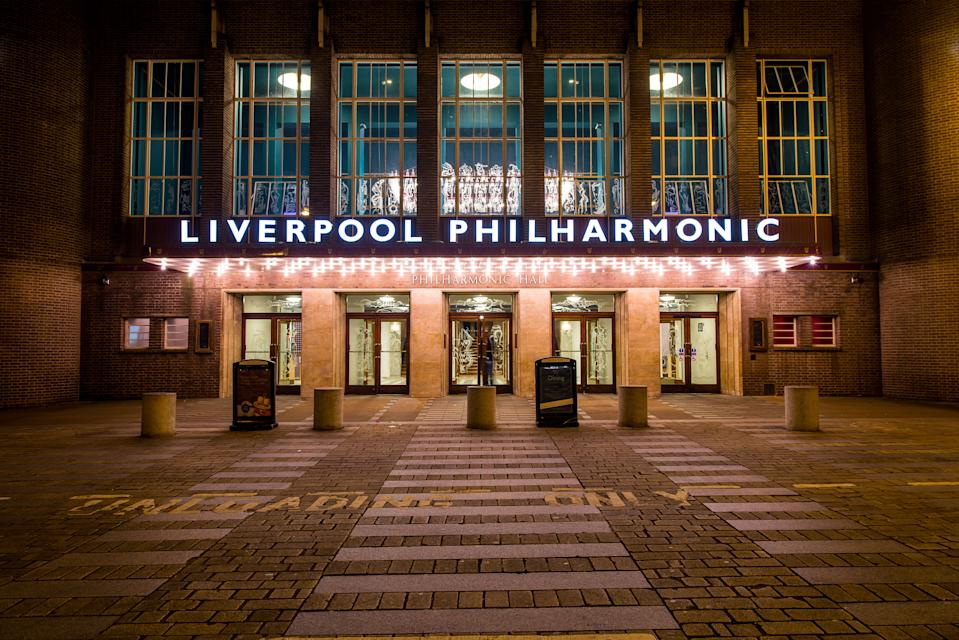 Spend a night at the Liverpool Philharmonic. [Photo: Liverpool Philharmonic Hall]