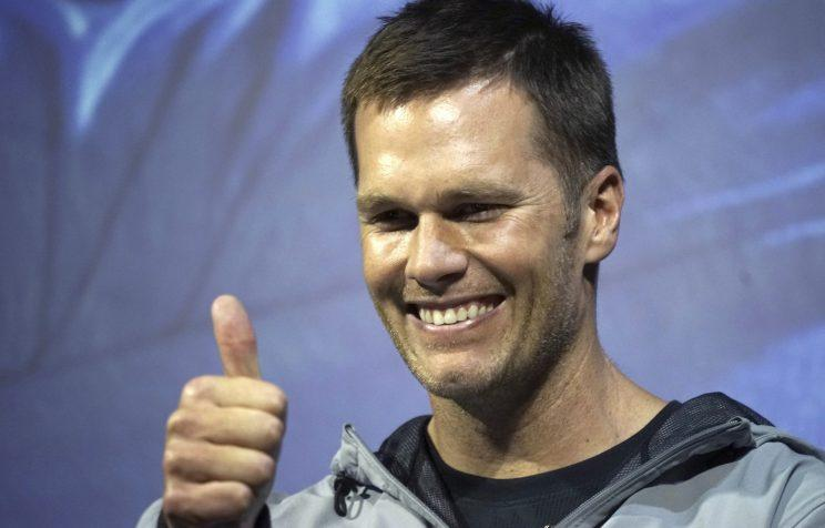 Tom Brady is the favorite to win NFL MVP. (AP)