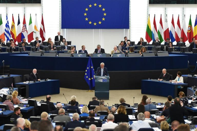 Juncker's speech was his last before he faces a populist challenge in May polls to elect new members of the European Parliament