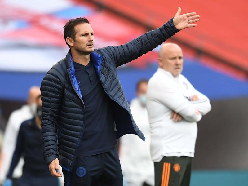 Frank Lampard believes Chelsea should not be judged by Champions League qualification alone: Getty