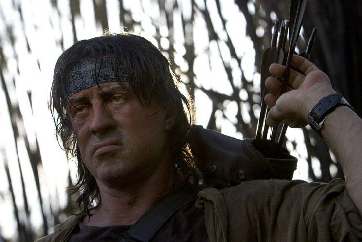 Rambo... Sly won't be appearing in the Hindi version of Rambo - Credit: Lionsgate