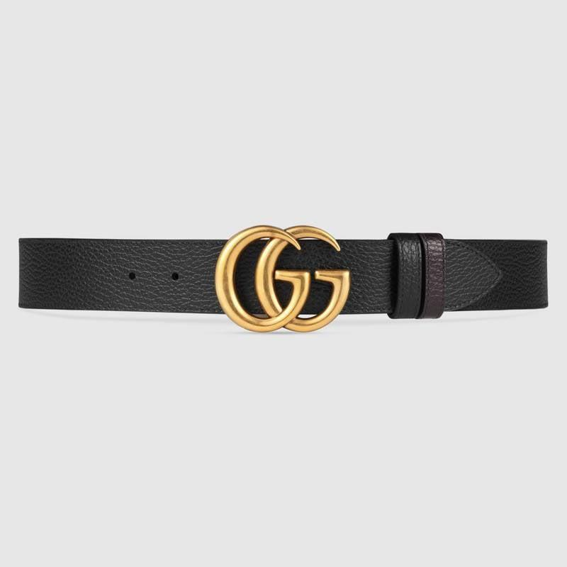 <p>Up her street style cred with this <span>Gucci Leather Belt With Double G Buckle</span> ($550).</p>