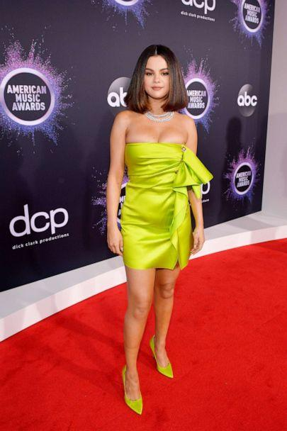 PHOTO: Selena Gomez attends the 2019 American Music Awards at Microsoft Theater on Nov. 24, 2019 in Los Angeles. (Getty Images for dcp)