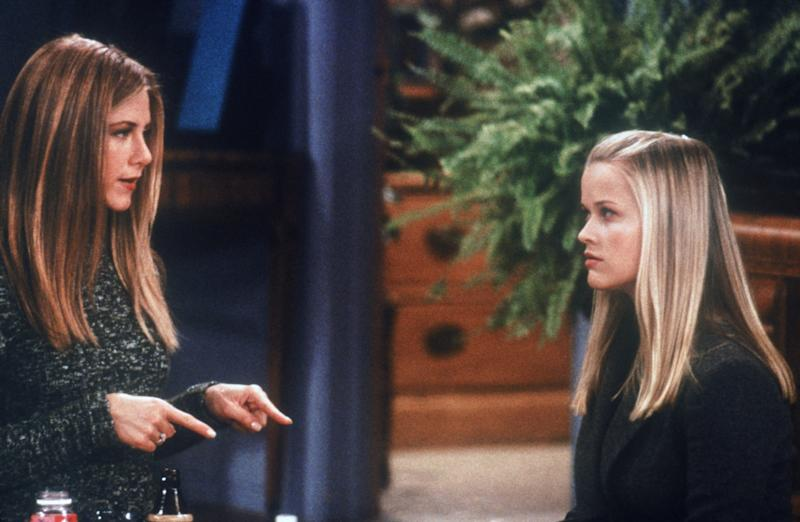 """Reese Witherspoon appeared as Jennifer Aniston's sister on the Friends episode """"The One With Rachel's Sister."""""""