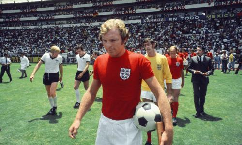 Bobby Moore in 1970