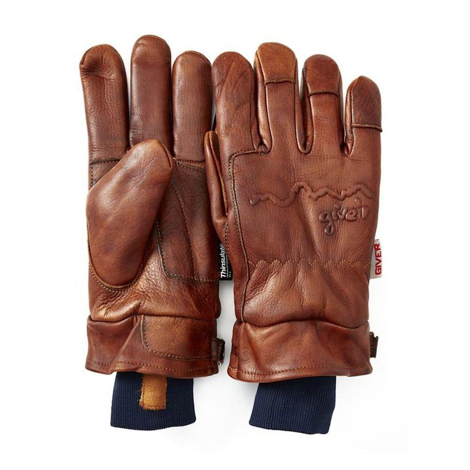 """<p><strong>Give'r</strong></p><p>huckberry.com</p><p><strong>$85.98</strong></p><p><a href=""""https://go.redirectingat.com?id=74968X1596630&url=https%3A%2F%2Fhuckberry.com%2Fstore%2Fgiver%2Fcategory%2Fp%2F44207-4-season-glove-w-wax-coating&sref=https%3A%2F%2Fwww.menshealth.com%2Fstyle%2Fg30667174%2Fbest-winter-gloves-men%2F"""" rel=""""nofollow noopener"""" target=""""_blank"""" data-ylk=""""slk:BUY IT HERE"""" class=""""link rapid-noclick-resp"""">BUY IT HERE</a></p><p>A classic pair of mitts that are built to last, these gloves are as hardy as they look. The thick leather has been treated with wax coating to make it waterproof and special insulation keeps out frigid temperatures. According to <a href=""""https://go.redirectingat.com?id=74968X1596630&url=https%3A%2F%2Fhuckberry.com%2Fstore%2Fgiver%2Fcategory%2Fp%2F60596-4-season-glove-w-wax-coating-exclusive&sref=https%3A%2F%2Fwww.menshealth.com%2Fstyle%2Fg30667174%2Fbest-winter-gloves-men%2F"""" rel=""""nofollow noopener"""" target=""""_blank"""" data-ylk=""""slk:Huckberry"""" class=""""link rapid-noclick-resp"""">Huckberry</a>, this is the glove that can take you from ice fishing to building a fire. </p>"""