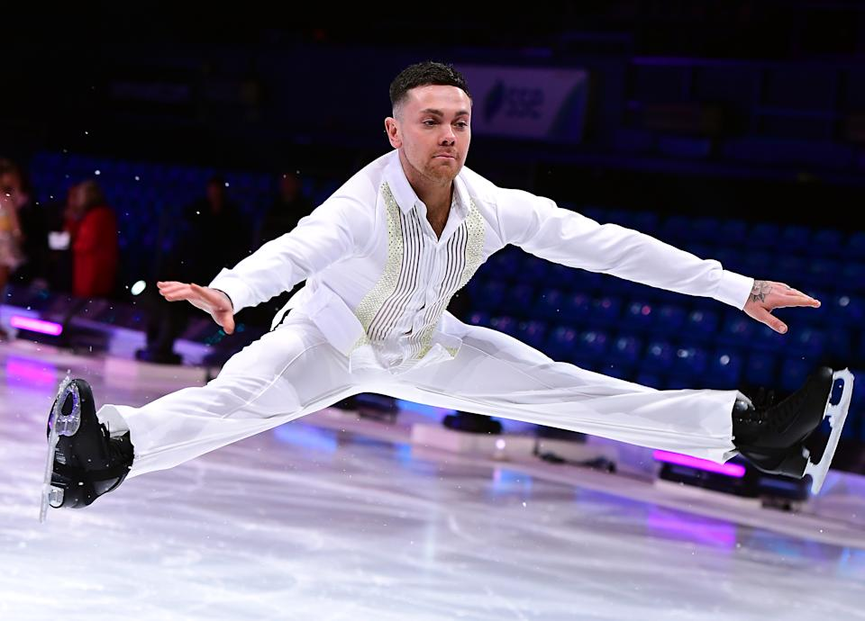 Ray Quinn during the photocall for the 'Dancing On Ice' live tour. (Photo by Ian West/PA Images via Getty Images)