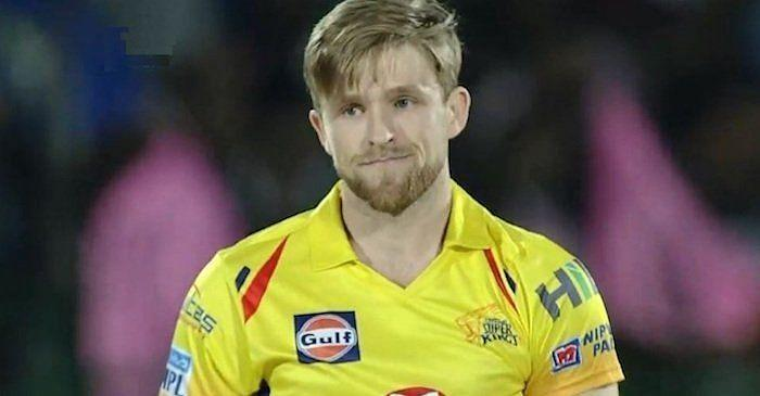 David Willey could have served as a backup for Sam Curran in the 2020 IPL for CSK