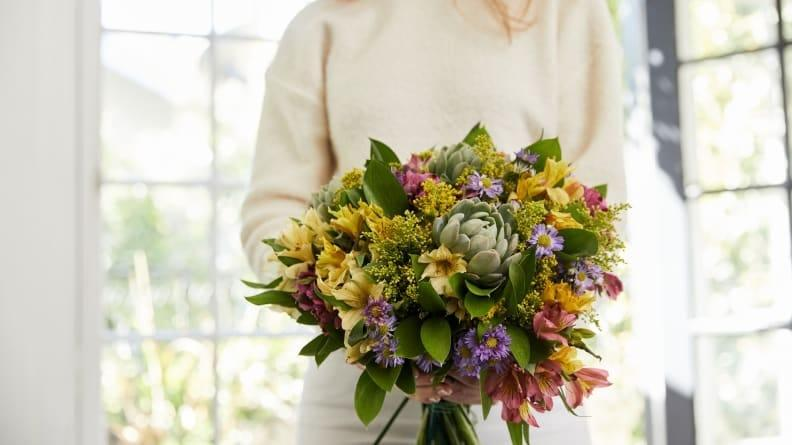 Bouqs offers a unique subscription service that delivers fresh flowers every month.
