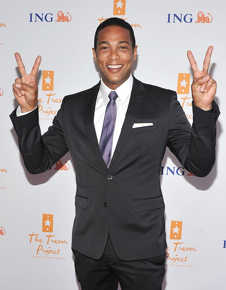 NEW YORK, NY - JUNE 27:  TV personality Don Lemon attends Trevor Live: An Evening Benefiting the Trevor Project at Capitale on June 27, 2011 in New York City.  (Photo by Stephen Lovekin/Getty Images)