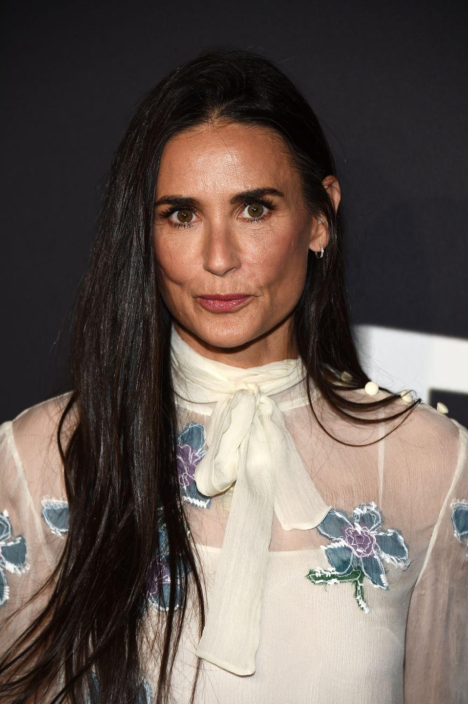 """<p><strong>Real name: </strong>Demetria Gene Guynes</p><p>Demi Moore married rock musician Freddy Moore when she was just 17 years old and <a href=""""http://www.demophonic.com/bio/demimoor.html"""" rel=""""nofollow noopener"""" target=""""_blank"""" data-ylk=""""slk:took his last name"""" class=""""link rapid-noclick-resp"""">took his last name</a>. They divorced five years later, but she kept the name on.</p>"""