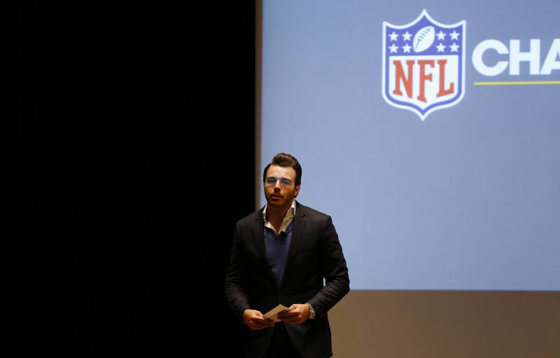 Charlie Ebersol shown here in 2014 is starting a new football league