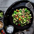 <p>This meatless main-dish salad combines creamy, satisfying white beans and avocado. Try mixing it up with different seasonal vegetables.</p>