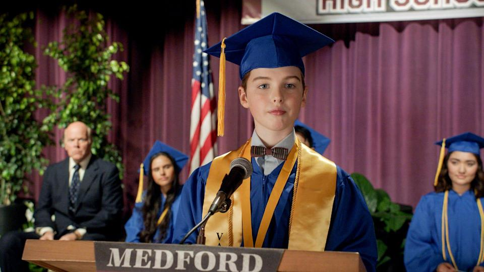 """Iain Armitage portrays the brainy Sheldon Cooper in a series about his upbringing, """"Young Sheldon."""""""