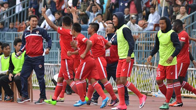 Khalid Jamil's side create history by becoming the first team from the North-East to win India's top-flight..