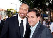 "<p>Steve Carrell is better known for his comedy chops than his romantic prowess, and it turns out there's a reason. When asked about his kiss with Carrell in <em>Get Smart</em>, Dwayne Johnson <a href=""https://www.imdb.com/news/ni0250108"" rel=""nofollow noopener"" target=""_blank"" data-ylk=""slk:compared his tongue"" class=""link rapid-noclick-resp"">compared his tongue</a> to cat litter. ""I just see Steve Carell's lips. So the bottom of a cat's paw—the soft supple part underneath—that's what Steve Carell's lips are like. But his tongue is like kitty cat litter. That's the physical experience."" All in good fun, to be sure, but nevertheless, unappealing.</p>"