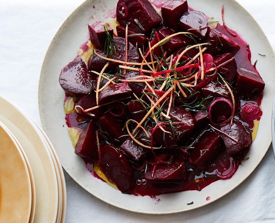 """<a href=""""https://www.bonappetit.com/recipe/roasted-beets-with-grapefruit-and-rosemary?mbid=synd_yahoo_rss"""" rel=""""nofollow noopener"""" target=""""_blank"""" data-ylk=""""slk:See recipe."""" class=""""link rapid-noclick-resp"""">See recipe.</a>"""