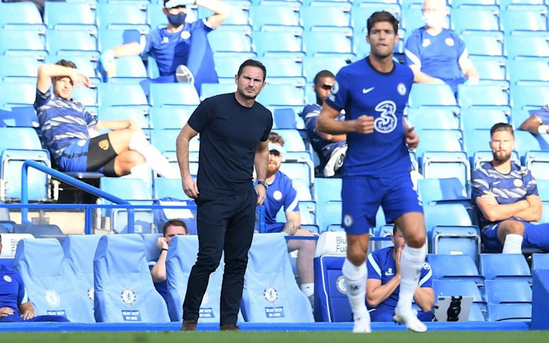 Lampard watches on - REUTERS