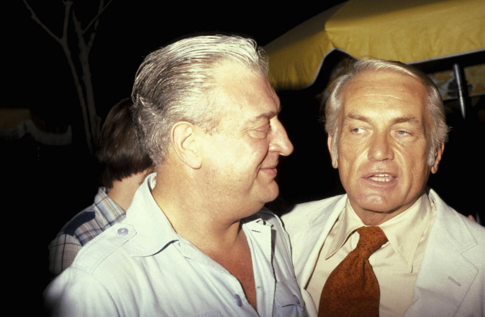 Rodeny Dangerfield and Ted Knight 1980 Credit: 1671057Globe Photos/MediaPunch /IPX