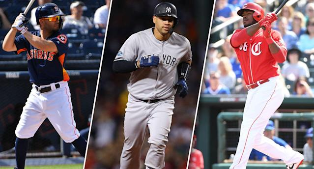 """Our experts debate some of the more polarizing players in fantasy drafts. (Photo by <a class=""""link rapid-noclick-resp"""" href=""""/golf/european/players/Mark+Brown/1456"""" data-ylk=""""slk:Mark Brown"""">Mark Brown</a>, Tim Bradbury and Norm Hall of Getty Images)"""