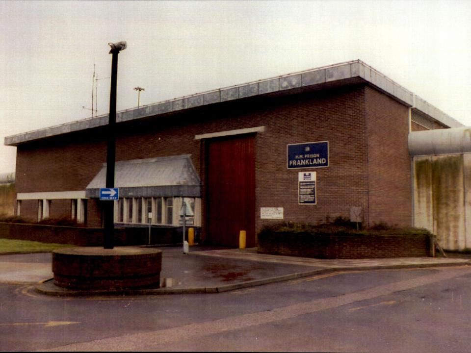 <p>HMP Frankland holds the only terrorist separation centre currently in operation </p> (Rex)