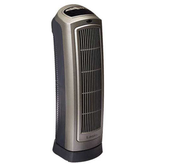 "<a href=""https://amzn.to/3kV1pGb"" target=""_blank"" rel=""noopener noreferrer"">This electric space heater</a> has two settings, a thermostat, oscillation, built-in timer and a remote control. It has a 4.5-star ratings and more than 8,500 reviews. Find it for $70 on <a href=""https://amzn.to/3kV1pGb"" target=""_blank"" rel=""noopener noreferrer"">Amazon</a>."