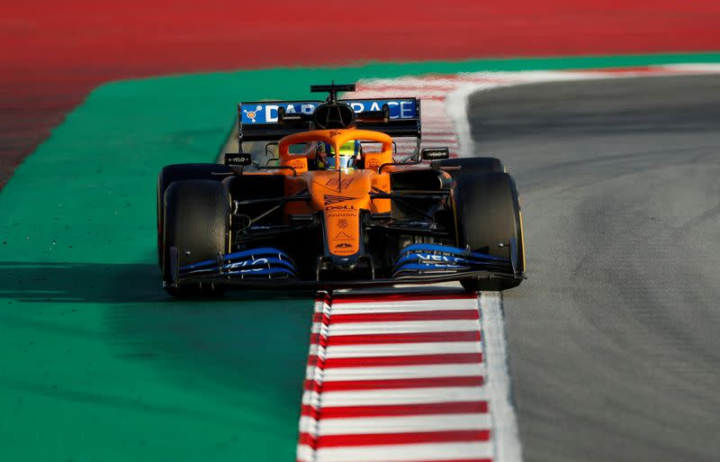Lando Norris, Carlos Sainz take pay cuts as McLaren furloughs begin