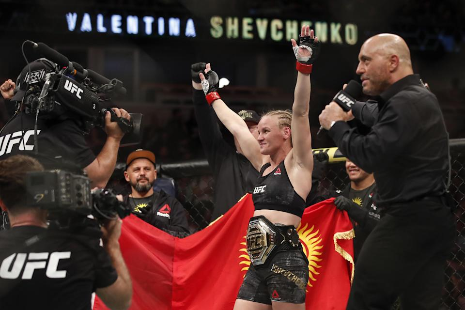 Valentina Shevchenko Keeps Title with UFC 255 Win by Decision vs. Jennifer Maia