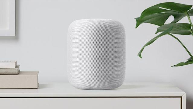 The Apple Homepod. Photo: Apple