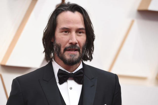 Keanu Reeves (Credit: Jordan Strauss/Invision/AP)