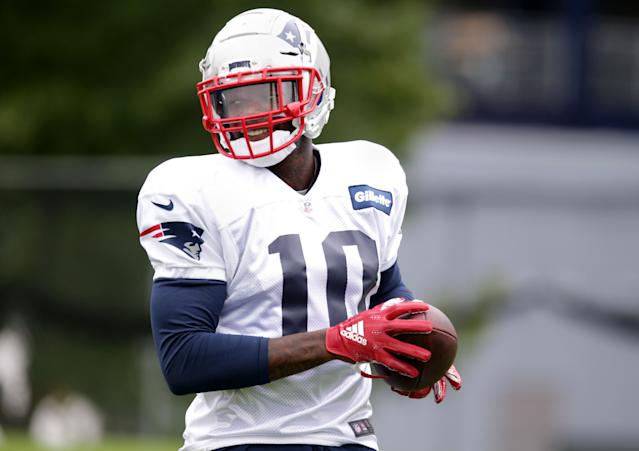Josh Gordon is now in New England…but will he take to the Patriot Way?(Photo by Jonathan Wiggs/The Boston Globe via Getty Images