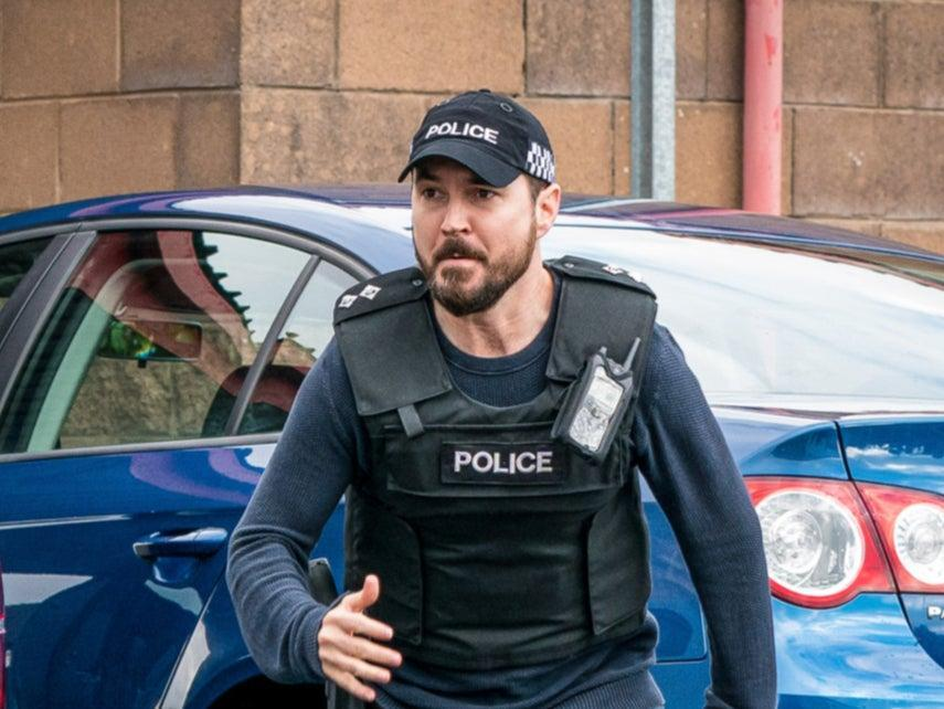 Martin Compston as Steve Arnott in Line of Duty (BBC/World Productions/Steffan Hill)