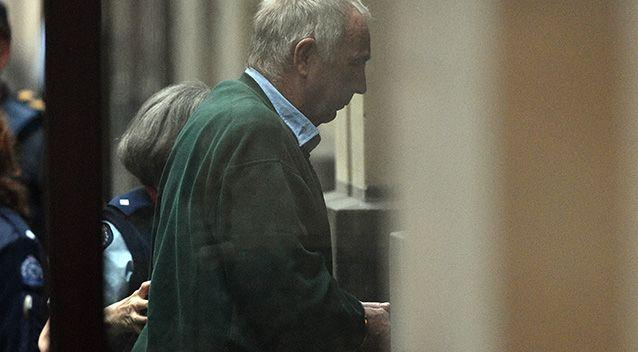 Ian Jamieson is lead into the Supreme Court of Victoria. Source: AAP Image/Julian Smith