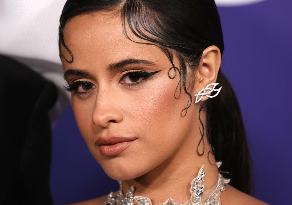 Singer and actress Camila Cabello, 24, spoke out about how her chronic anxiety affected her well-being. (Photo: Frazer Harrison/FilmMagic)