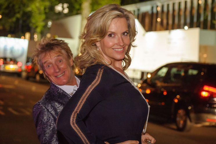 Rod and his wife Penny (Photo: WENN.com)